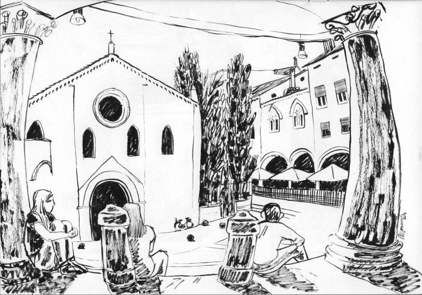 sketches I _ Bologna
